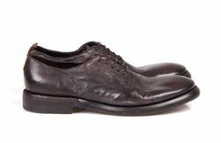 Dark Brown Derby Shoes - Art. 125