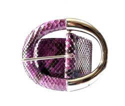 Belt - Art. Purple Python