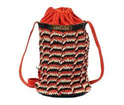 Shoulder Bag - Art. Wendy (Black & Red)