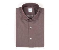 Shirt - Art. Brown Twill Shirt