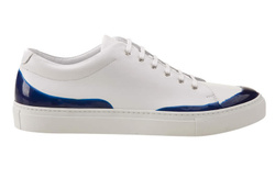 White/Blue Sneakers Shoes - Art. 20302