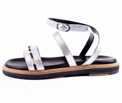 Sandals - Art. Vitello Daino Argento