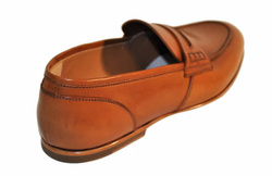 Brown Loafers Shoes - Art. 90001C