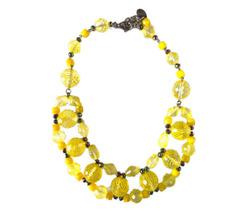 Necklace - Art. Yellow