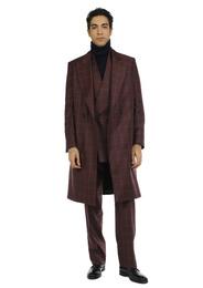 Jacket - Art. YARI V9AGT.24FW21-22 - BORDEAUX CHECK